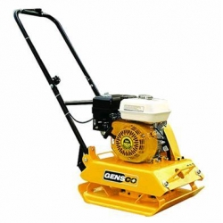 how to use a vibratory plate compactor