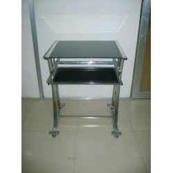 chrome black glass desk, chrome black glass desk Manufacturers and