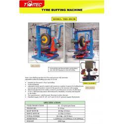 tire polishing machine
