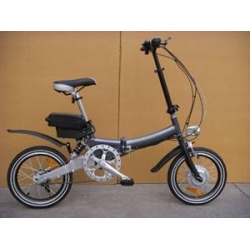 China Electric Folding Bicycle on sale