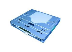 Slot dvd drive mechanism