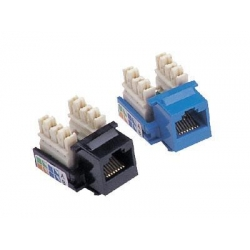 China RJ45 Cat5E Module for Computer Socket / Switch (Keystone Jack) on sale