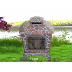 CMCCast Iron Outdoor Fireplace