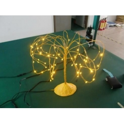 China LED mini base tree light,LED string EL string light on sale