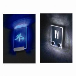 China Acrylic LED lighting sign on sale