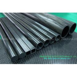 China carbon fiber pipe/tube on sale
