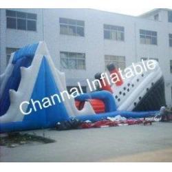 China Inflatable Titanic Slide on sale