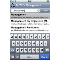 China Dr. Wit's Management Dictionary on sale
