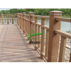 China Outdoor WPC Railings on sale