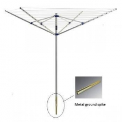 China 4 Arm Rotary Washing Line 40m rotary airer on sale