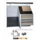 China D123 Flooring Tiles Display Rack on sale