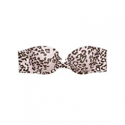 China female's Maidenform's Charmed Strapless Multi-way Push Up Bra - Neo Leopard Print - Size: 32D on sale
