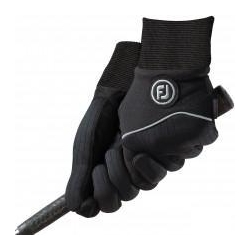 China Footjoy WinterSof Ladies Winter Golf Gloves Pairs - Black on sale