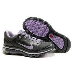China Women's Nike Air Max 2009 - Black/Purple on sale