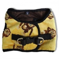 China Bessie and Barnie Gold Dog Vest Harness on sale