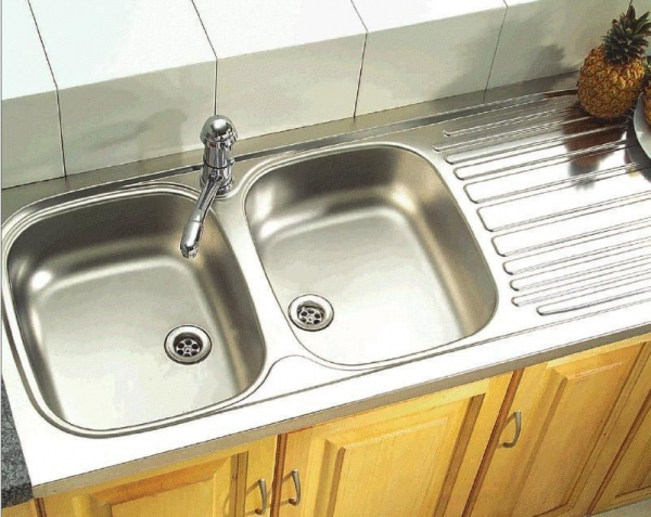 kitchen stainless steel sinks double - Kitchen Sinks Franke