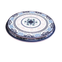 China 67 Blue-and-white plates on sale