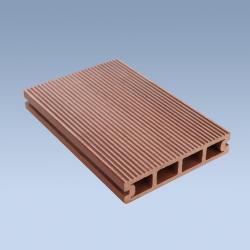 China WPC Decking Floor Anti-slip hollow WPC decking floor on sale