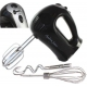 China Beaters Andrew James Powerful 300 Watt Black Hand Mixer With Chrome Beater on sale