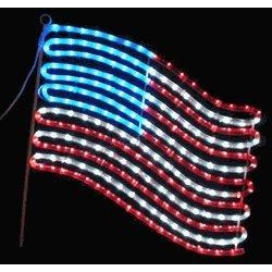American Flag Light Display 28 Images Shows Pictures Lighted Manufacturers