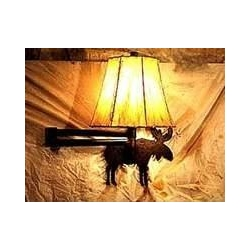 China Swing Arm Wall Sconce-Moose design on sale