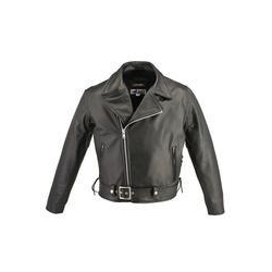 China Men's Full Belted Horsehide M/C Jacket #HS5530H on sale