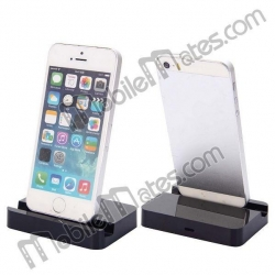 China Portable design 8 Pin Desktop Charging Cradle Dock Charger for iPhone 6/ 6 Plus/ 5/ 5S/ 5C - Black on sale