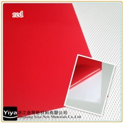 China Red vinyl,color film,self adhesive vinyl,car wrap materials on sale