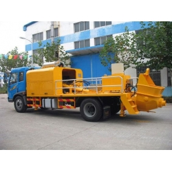 China Truck-mounted Concrete Pump on sale