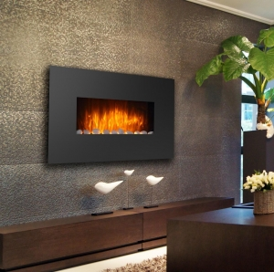 wall mounted fireplaces mk-4201t