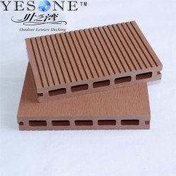 China Outdoor hollow wpc deck on sale