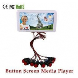 China Multi Language OSD Small LCD Advertising Display / LCD Display Panel on sale