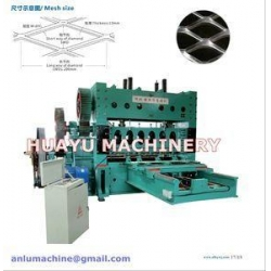 China Heavy-duty Expanded Metal Mesh Machine on sale