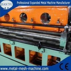 China low carbon steel sheet expanded metal mesh making machine on sale