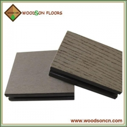China Commercial Hollow WPC Decking Floor on sale