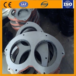 China concrete pump wear plate and wear ring on sale