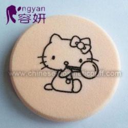 China Cute Latex Free Round Foundation Sponge on sale