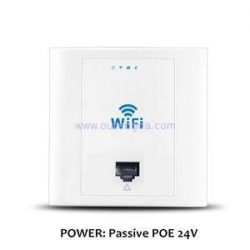 China 2015 in wall wireless repeater router mini wireless router access point hotel wall wifi ap on sale