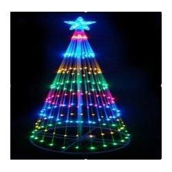 China Ungrouped 25W power saving Christmas tree motif led light Xmas decor tree light on sale