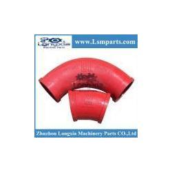 China Putzmeister concrete pump elbow on sale