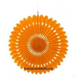 China Orange Hanging Paper Pinwheels Hollow out Pattern for Sale on sale