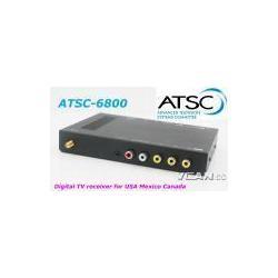 China ATSC-6800 Digital TV Receiver ATSC Tuner Box in Car For USA Mexico Canada on sale