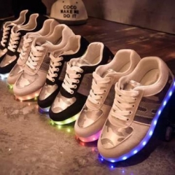 China USB Rechargeable Light Led Shoes for Adults on sale