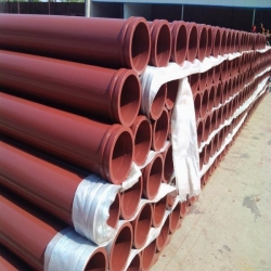 China ST52 Concrete Pump Seamless Pipe on sale