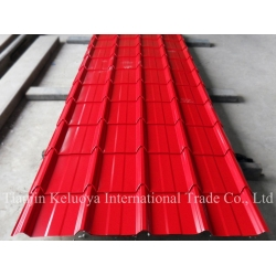 China Steel Sheet Pre-painted CorrugatedSheet/Color Coated Roofing Sheet on sale