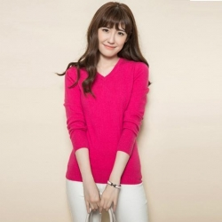 China Women cashmere sweater Product No.:SYR1502 on sale