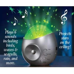 tabletop projector and nature sound machine