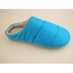China Normal Roonshoes Fashion Nylon Taffeta With Stuffed Women Slippers on sale