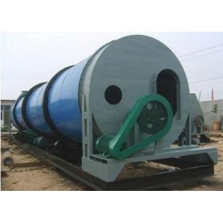 China Pellet Packing Mach Cow Dung Rotary Dryer on sale