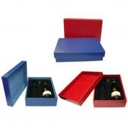 China FN0760 - Leather Wine Gift Box on sale